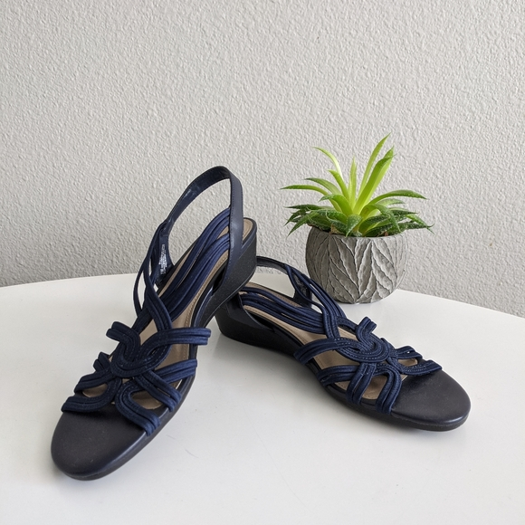 Impo Shoes   Impo Ruby Navy Sandals